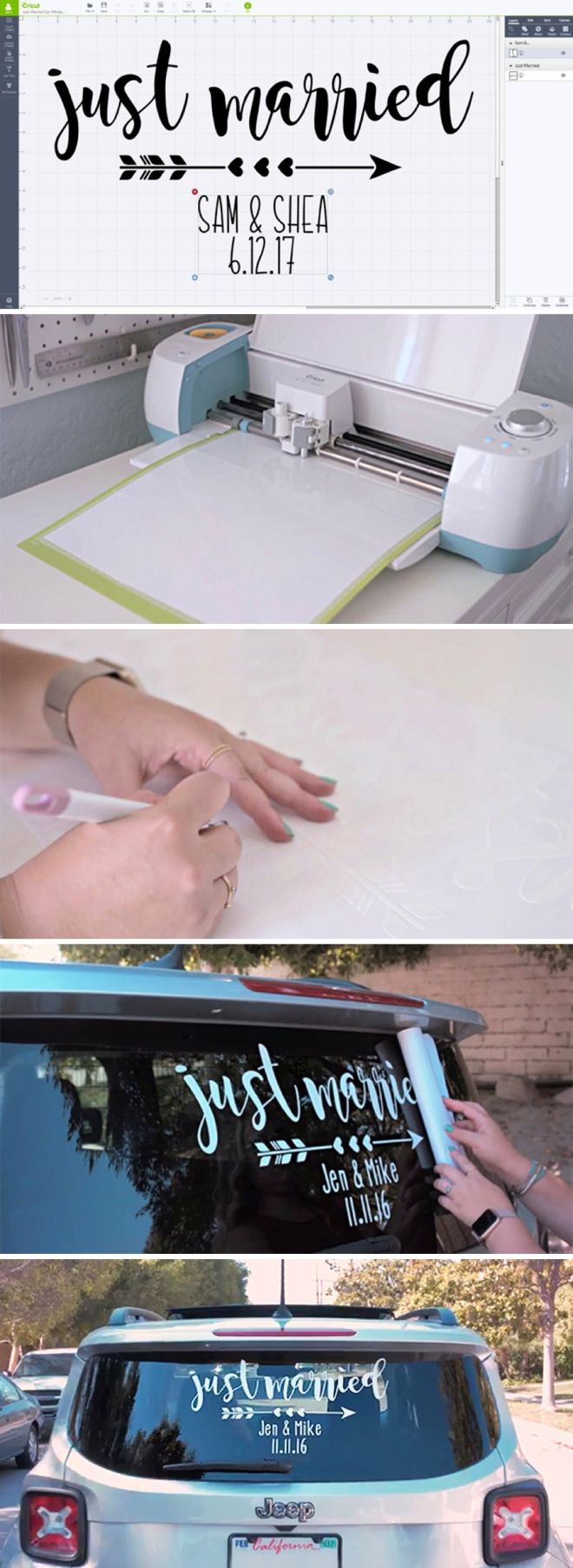 How To Make A Vinyl Car Window Decal Sticker With Cricut Explore - How to make car decals with cricut expression