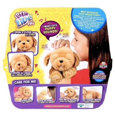 Little Live Petsa 20snuggles My Dream Puppy Pets Live