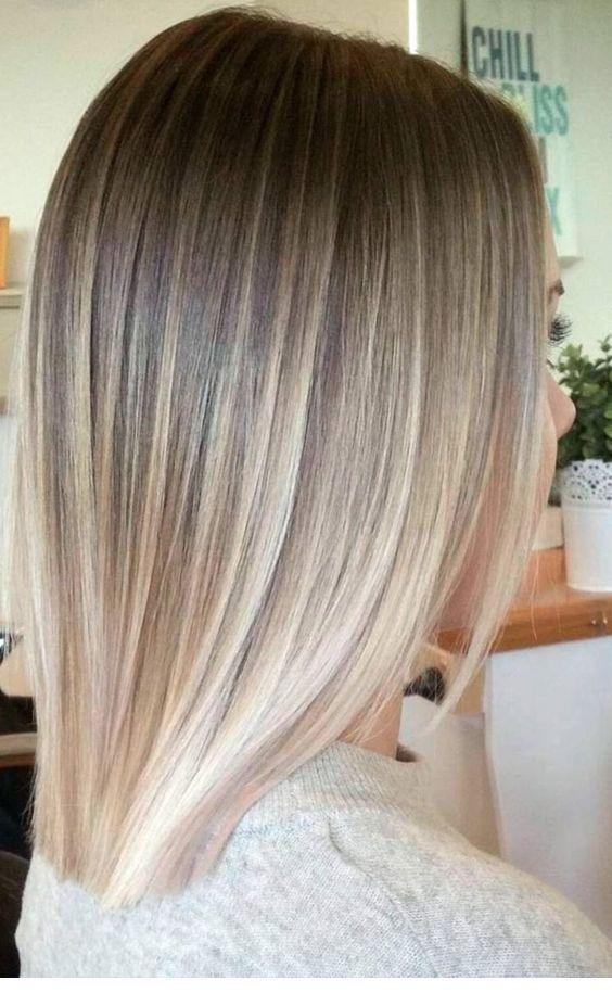 Blonde Hair Color Ideas For Short Hair Blonde Inspirations For 2019 Short Hair Balayage Short Blonde Hair Short Ombre Hair