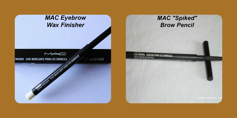 Mac Eyebrow Wax And Pencil They Work Great Eyebrow Romance