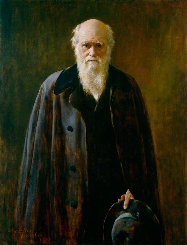 Charles Darwin, 1883 - John Maler Collier | John Maler Collier ...
