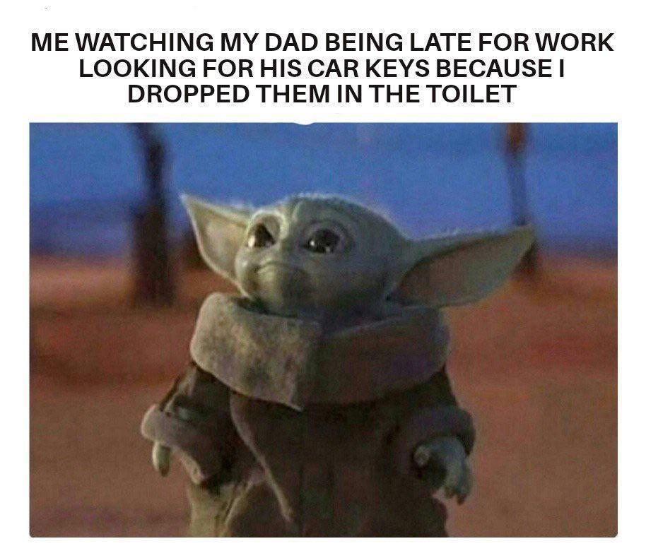 Too Relatable R Babyyoda Baby Yoda Grogu Yoda Meme Yoda Funny Star Wars Memes