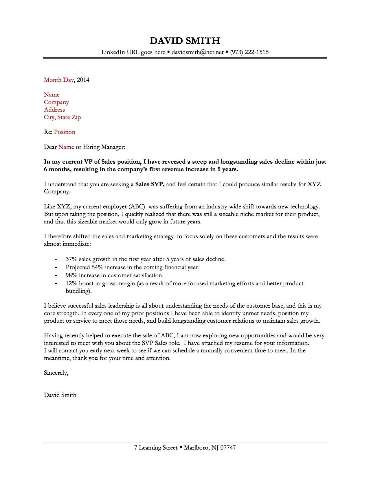 25+ Resume Cover Letter Samples Cover letter for resume