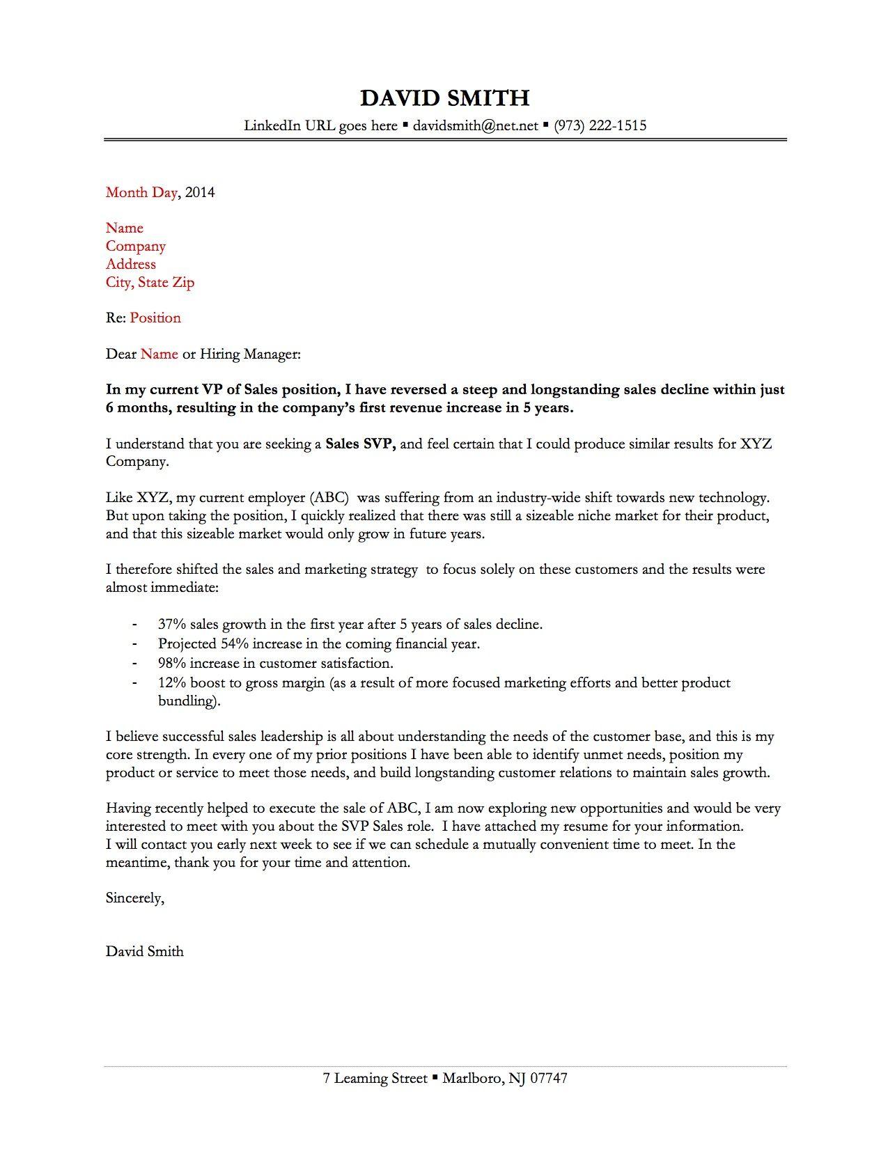 same cover letters for resume Cover Letter Sample same