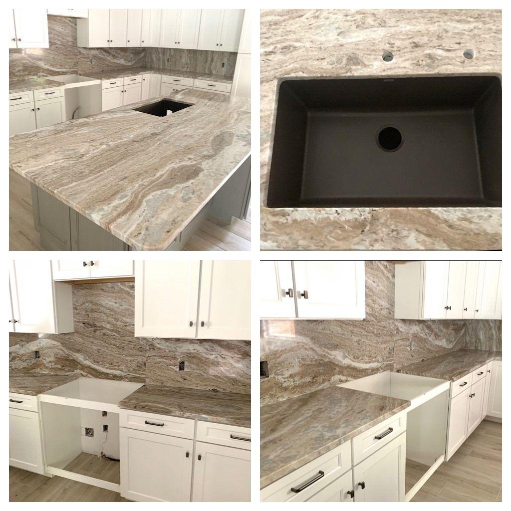 Fantasy Brown Natural Stone Countertops Countertops Kitchen Remodel