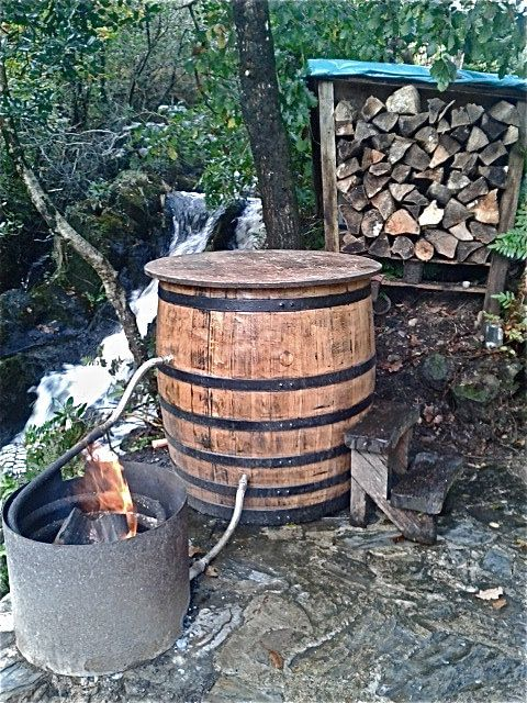 Unique Upcycled Handcrafted Whiskey Barrel Hot Tubs Made In