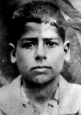 Young Saddam Hussein Age 10 Looks A Little Sinister Even