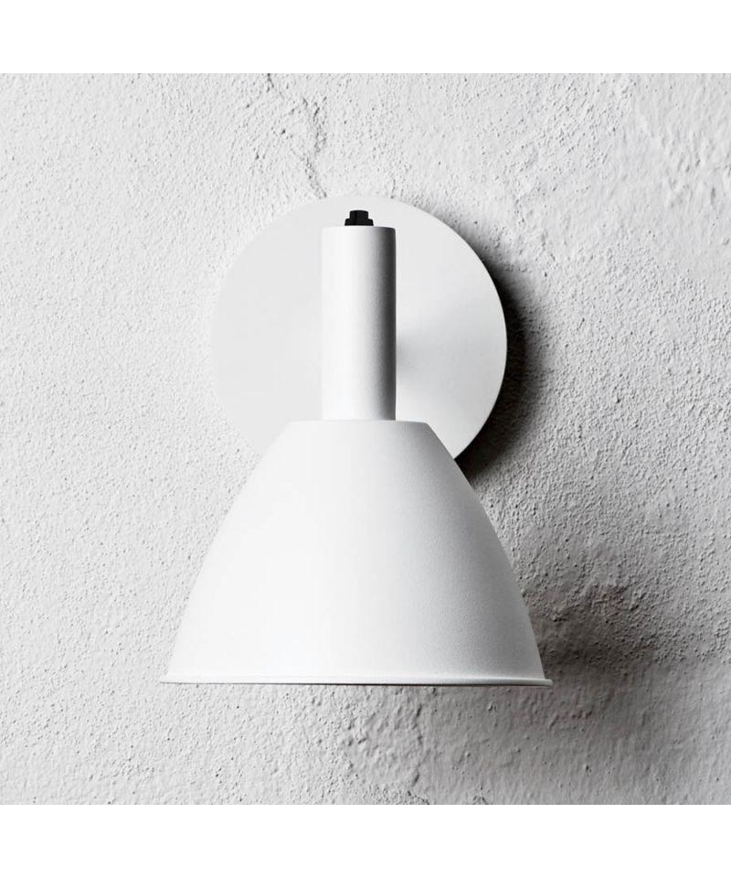 Bauhaus 90w Vaeglampe Hvid Lumini Wandleuchte Wandleuchte Weiss
