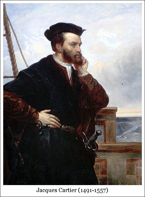 Jacques Cartier (1491-1557)