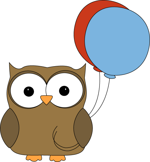 brown owl with balloons clip art brown owl with balloons image rh pinterest com Classroom Rules Clip Art Owl Graphics for Teachers