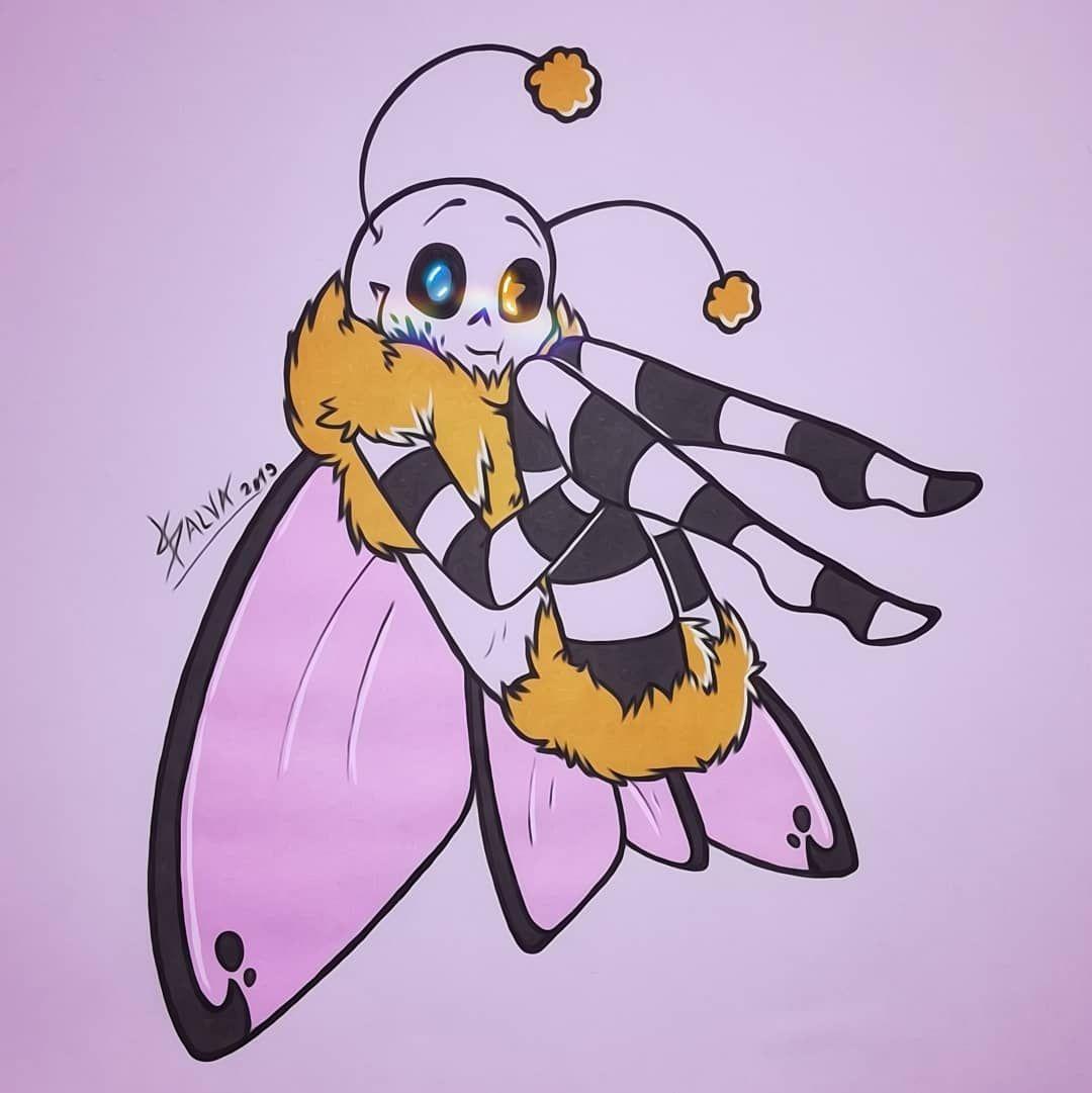 Картинки арты андертейл бабочки