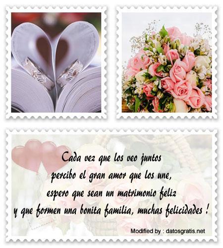 Bonitas Frases Para Felicitar A Los Novios Matrimonio Feliz Tarjetas De Matrimonio Frases Para Felicitar