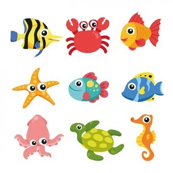 Enjoy These Fish Images For Free Sea Animals Fish Vector Marine Animals