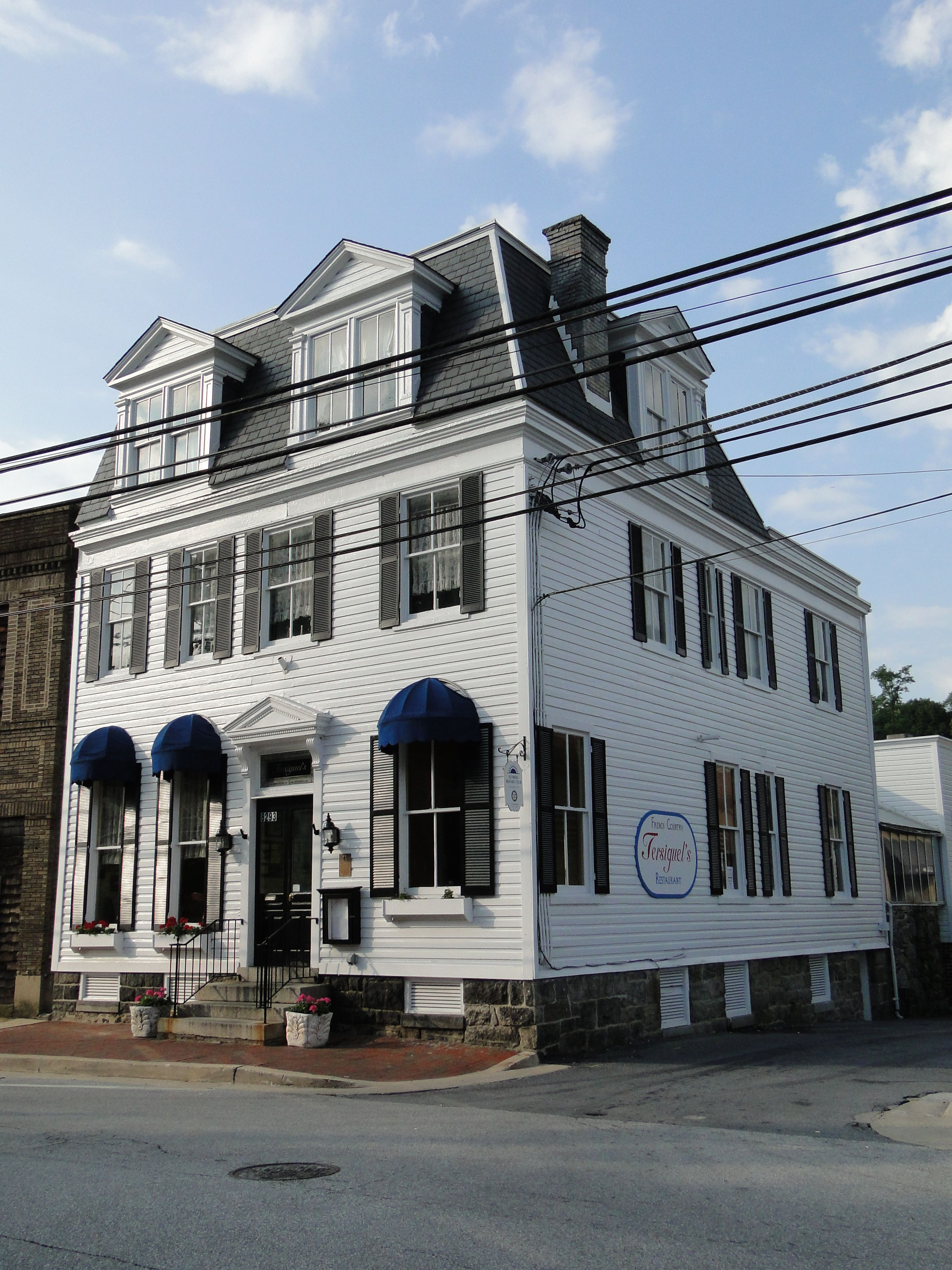 Tersiguels Restaurant In Ellicott City Maryland French Restaurants Old Buildings Washington