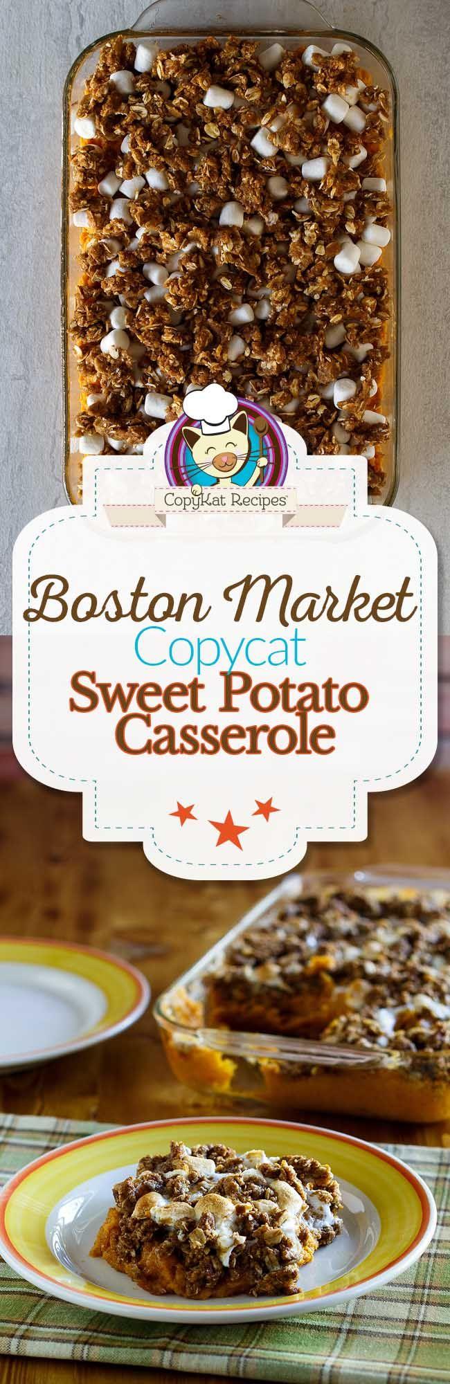 Boston Market Sweet Potato Casserole Recipe Sweet