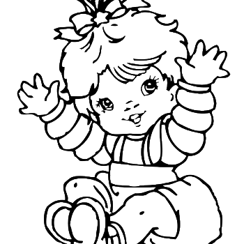 online baby coloring pages - photo#17