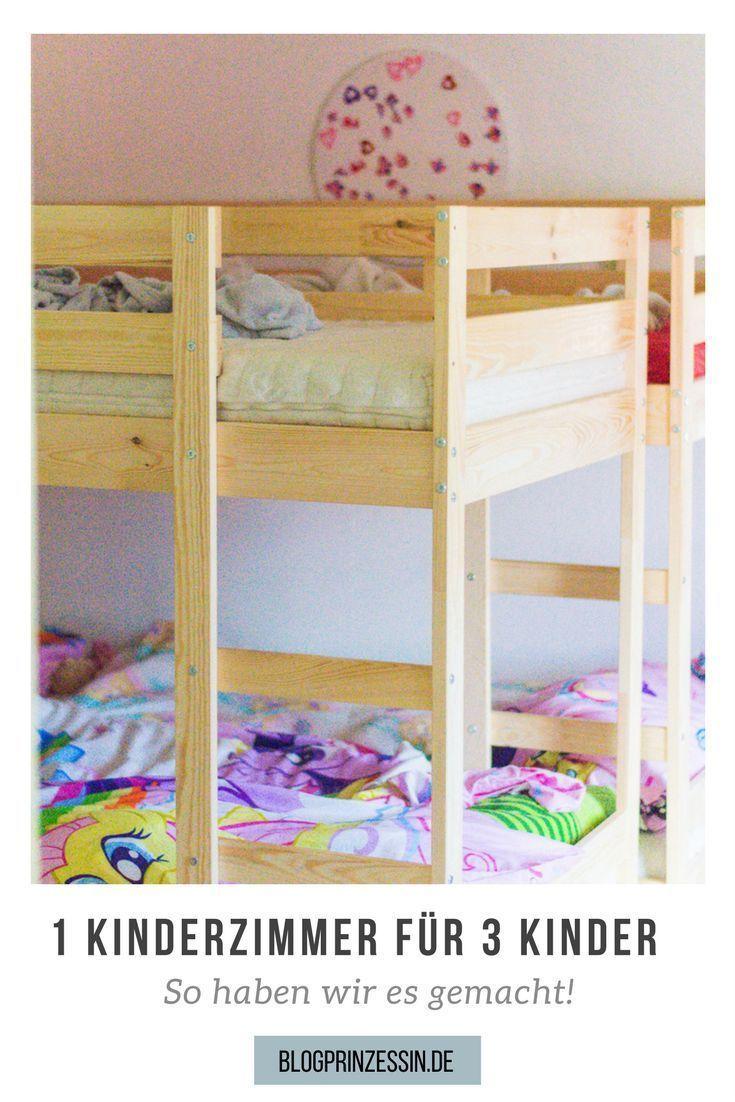 1 Kinderzimmer Für 3 Kinder | Kinderzimmer Ideen Jungs, Etagenbett Und  Kinderzimmer Ideen