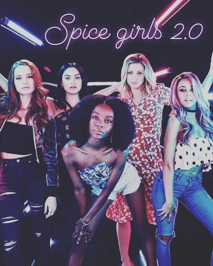 I love them . . . . . . #spicegirls #spicegirls2.0 #riverdale #riverdalevixens #josie #bettycooper #betty #veronicalodge #vero #veronica…