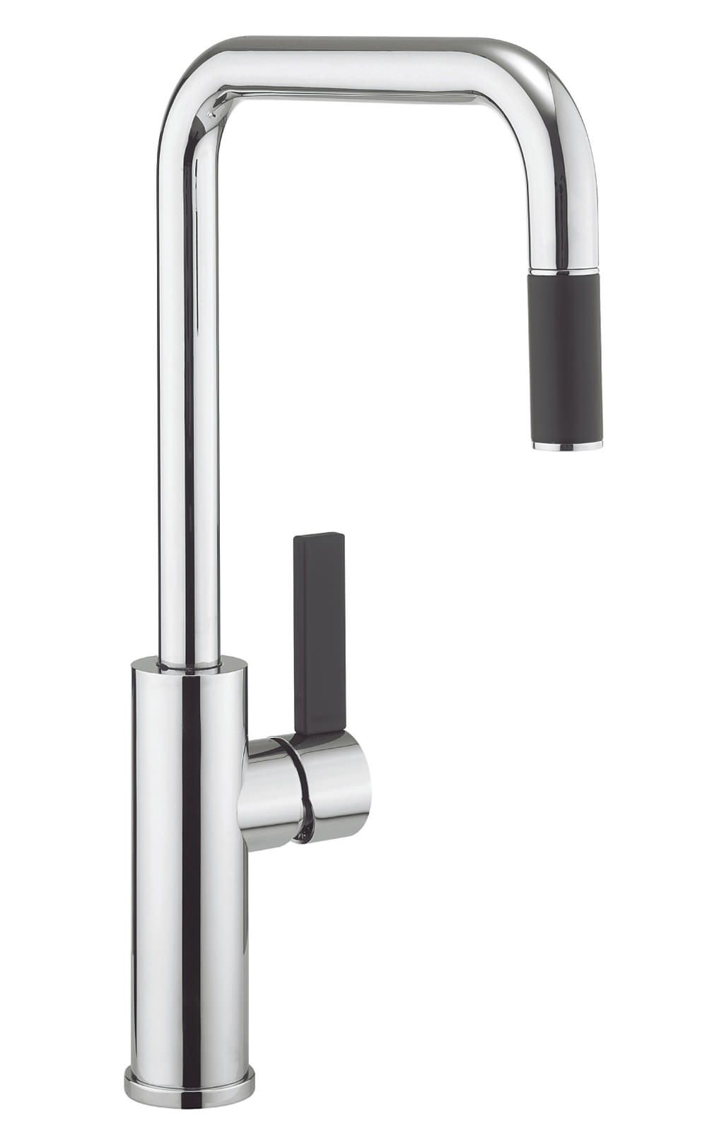 Crosswater Cucina Tone Side Lever Kitchen Sink Mixer Tap With Pull ...