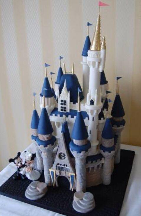 Cinderella Castle Cake Castle Cake Cinderella Castle Cake