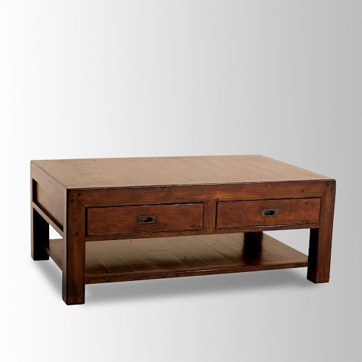 """Library Coffee Table 50""""w X 32""""d X 20""""h."""