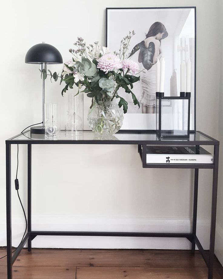 Today We Have Lovely Weather In London The Sun Is Shining And Temperature Hallway Tablesentry Table Ikeaentryway