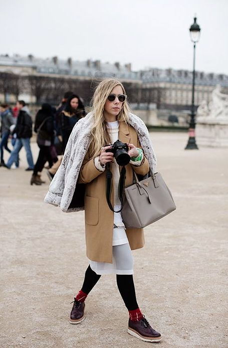 I absolutely love that look so let's see that again. layers of cool and camel. Paris. #ScottSchuman #TheSartorialist