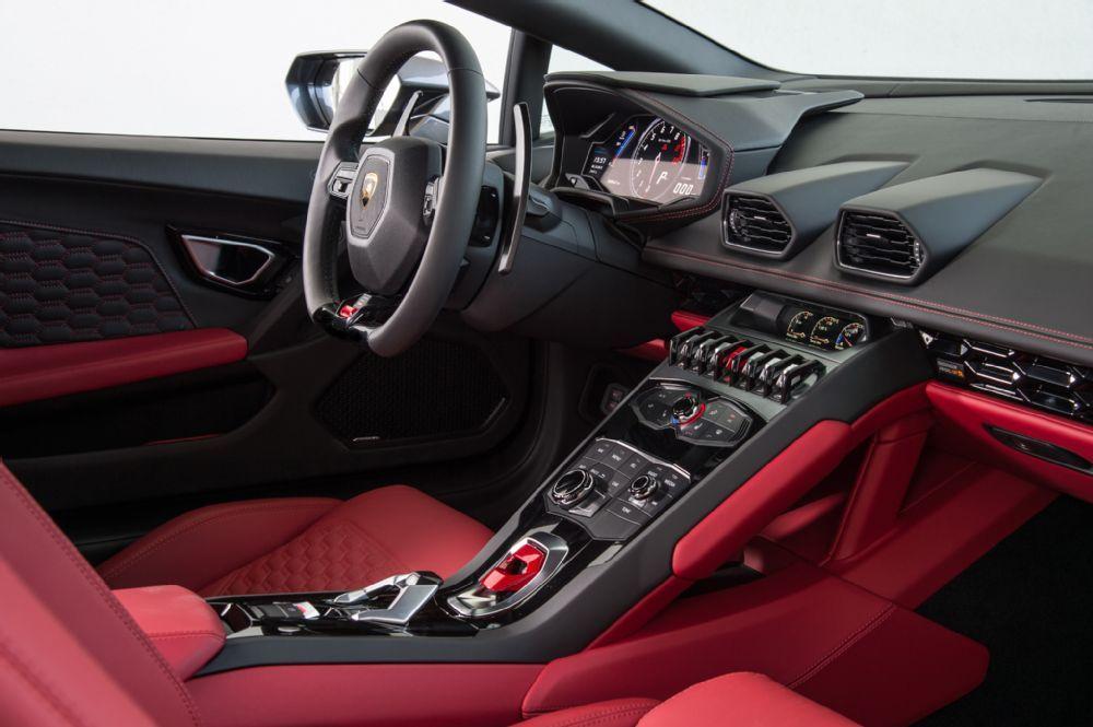 2016 Lamborghini Huracan Lp580 2 Interior 02 Lamborghini Huracan