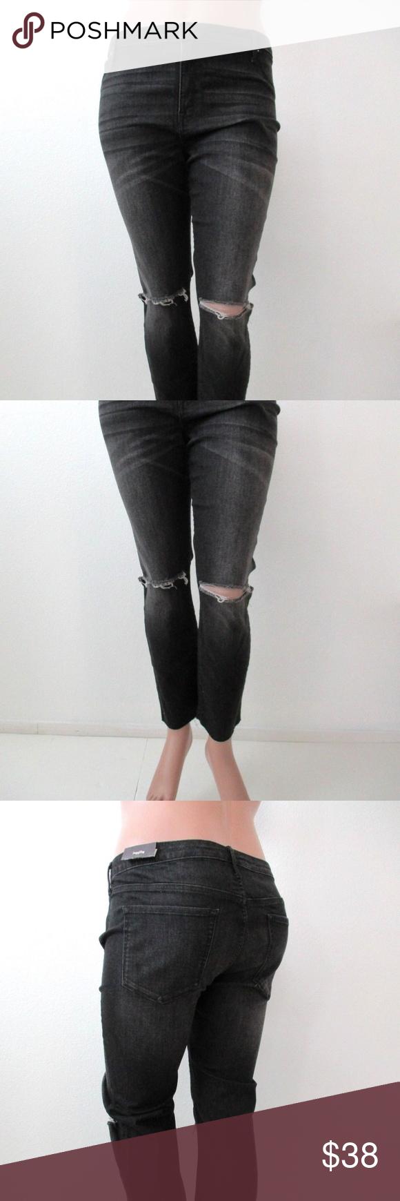 9293387bf10d0a AVA & VIV Jeans RIPPED Jeggings PLUS SIZE 22W NWT AVA & VIV Jeans