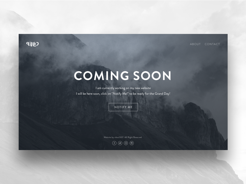 Coming Soon Instagram Design Coming Soon Page Landing Page Inspiration