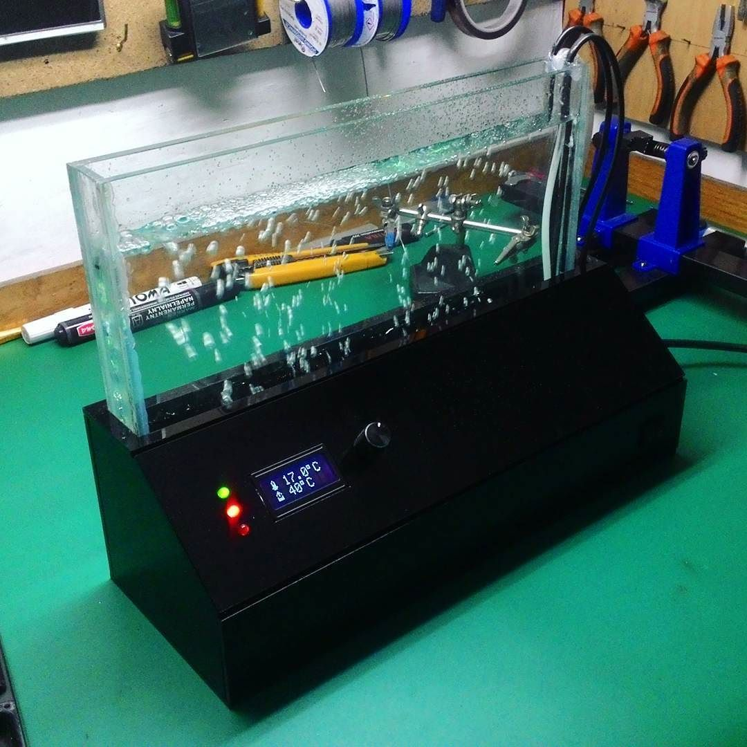 And my DIY etching tank for etching pcb\'s it\'s done! #diy ...