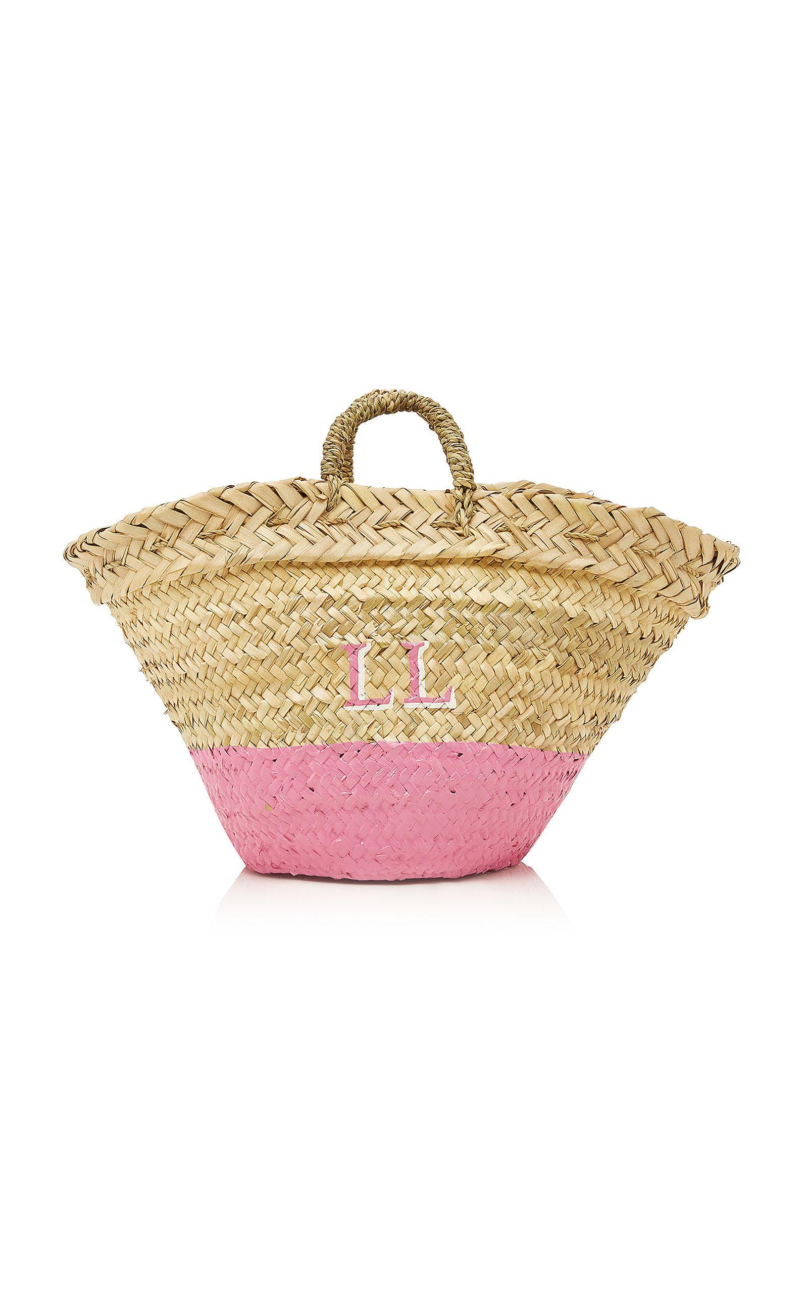 M'Onogram Dip Dye Basket