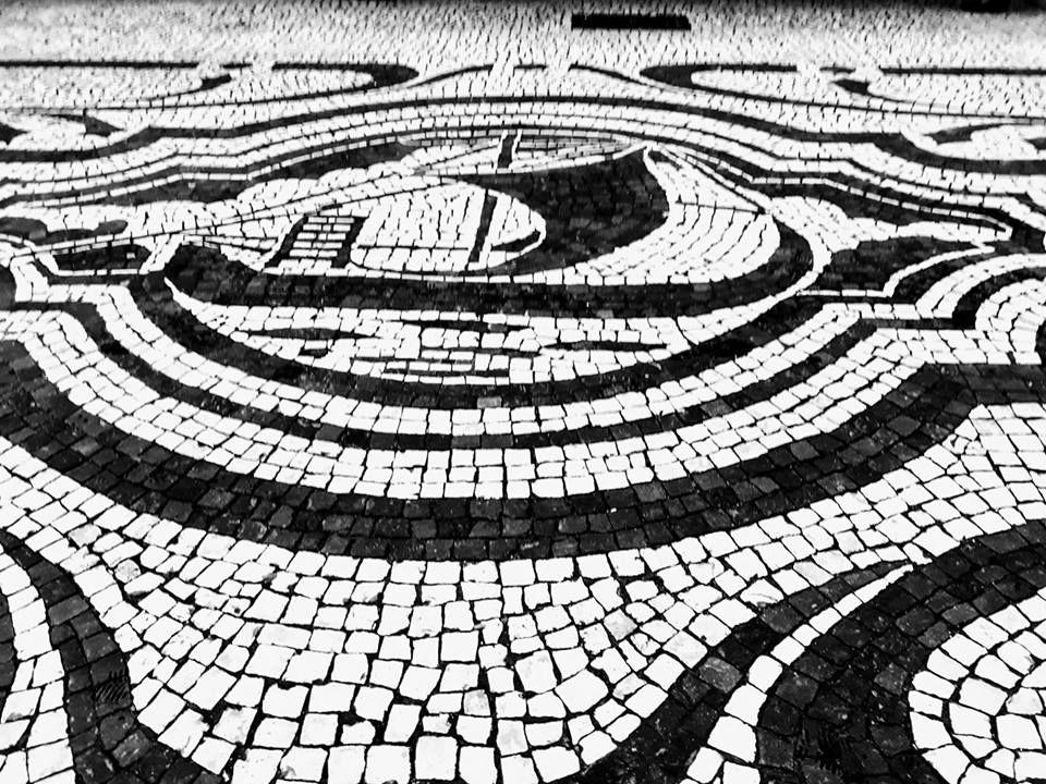 Calçada Portuguesa - R. de Sampaio Bruno. - Porto   Principalmente O ... 4786d68373