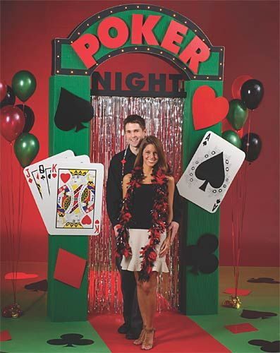 bet to win on a casino theme party party ideas by shindigz - Casino Party Decorations