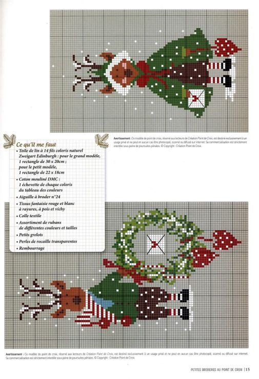 9 Gallery Ru Foto 13 Creation Point De Croix La Magie De Noel Tymanno Cross Stitch Patterns Christmas Christmas Cross Stitch Cross Stitch Embroidery