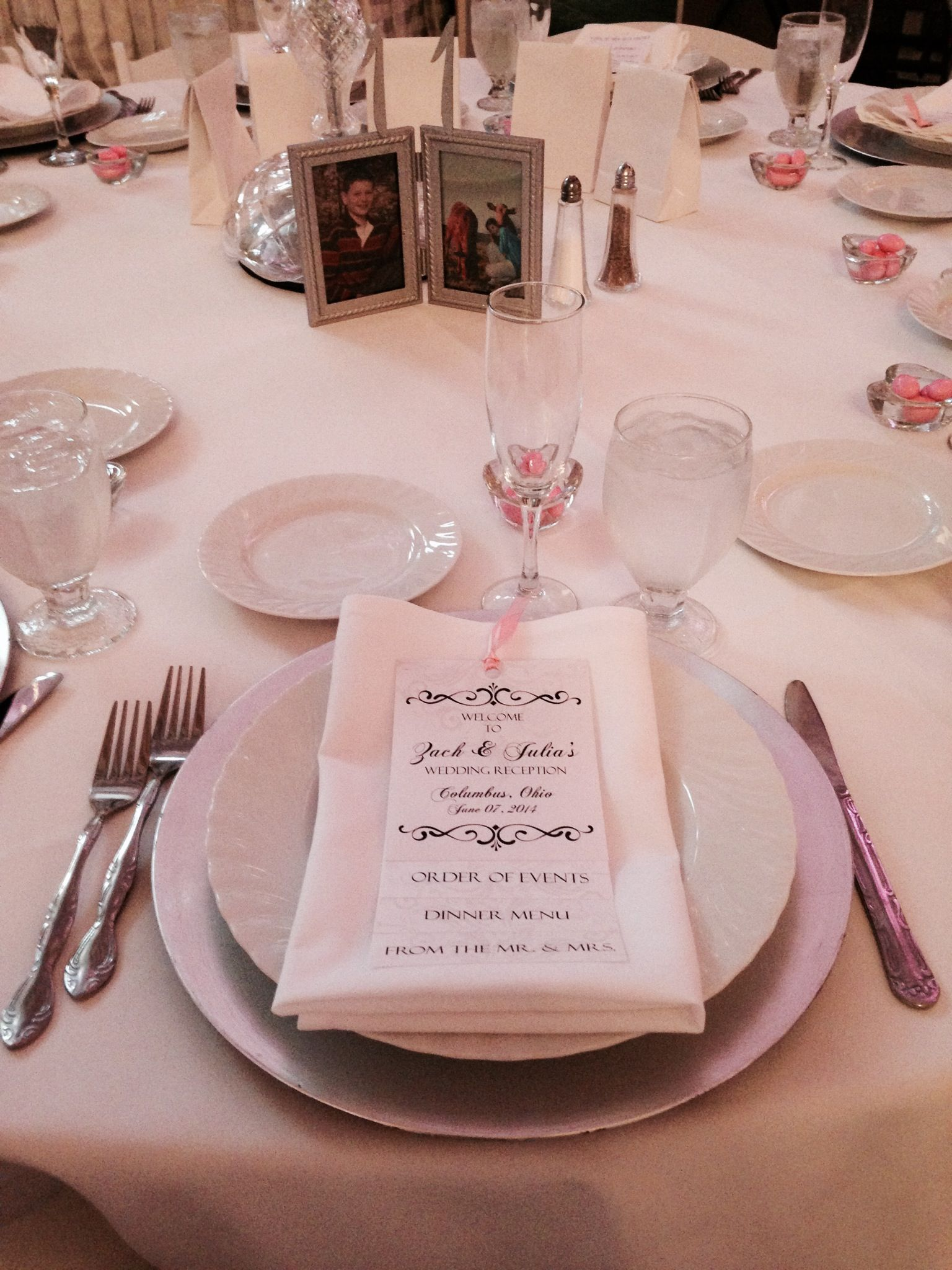 Table Numbers for Weddings: Pictures of Bride & Groom at the age of ...