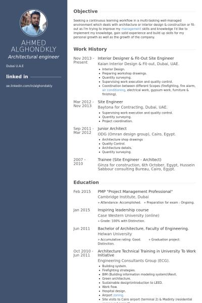 resume design site
