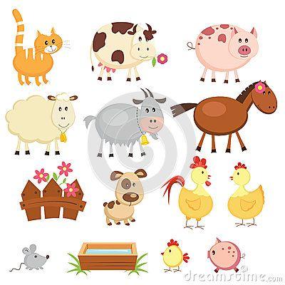 Farm Animals Stock Image Image 30935801 Farm Animals Animal Clipart Free Cartoon Animals