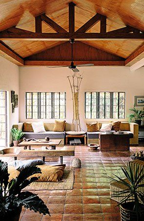 An Airy Artsy Antipolo Home Huge windows Antipolo and Ceilings