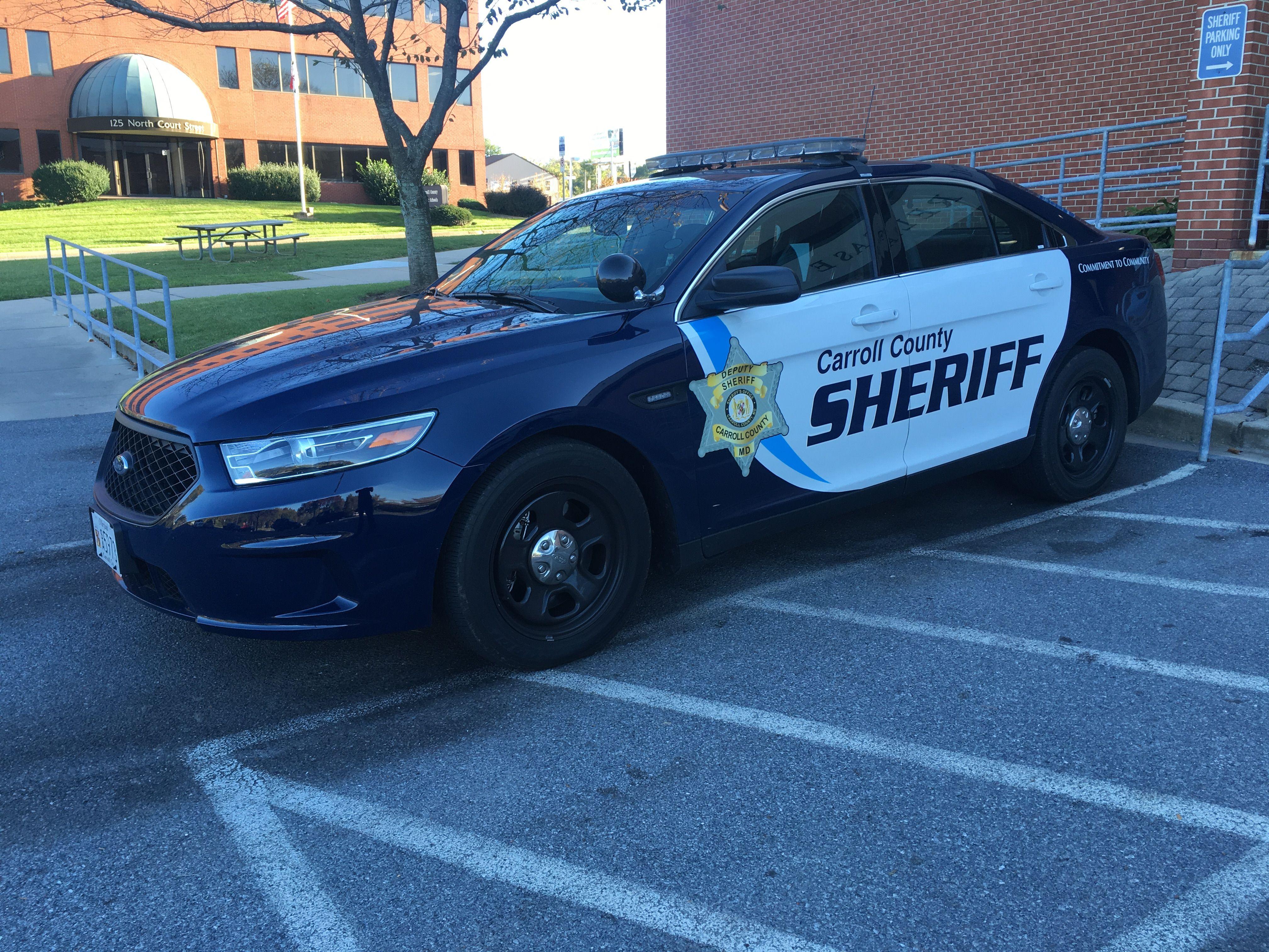Carroll county sheriff maryland new ford taurus | Attila