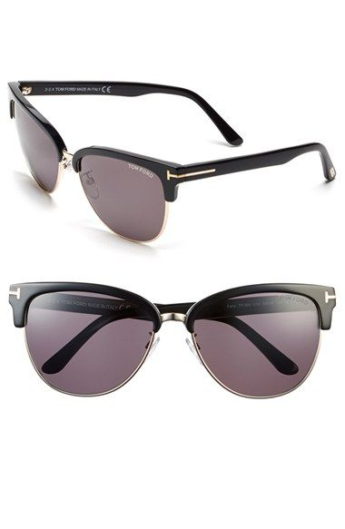 3e3fd5c80699 Tom Ford  Fany  59mm Clubmaster Sunglasses available at  Nordstrom ...