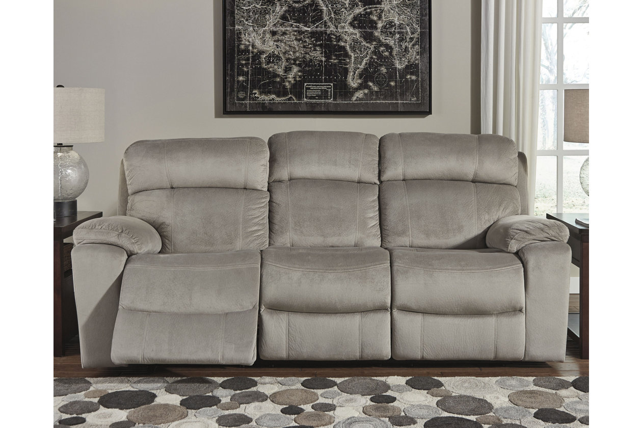 Uhland Power Reclining Sofa Granite Products