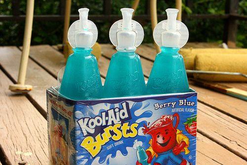 Kool Aid Bursts Mmm Kool Aid Berries Bottle