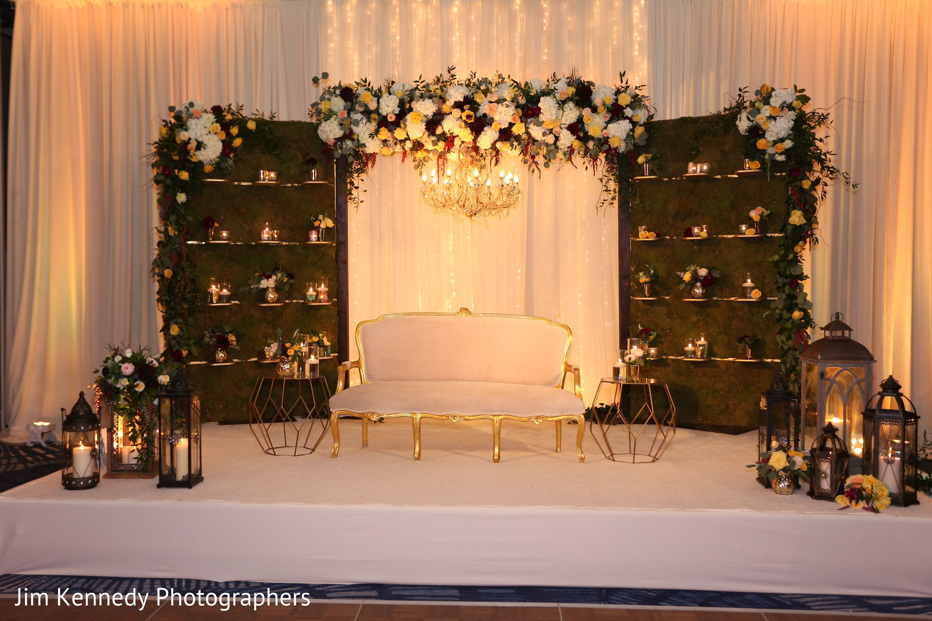 Wedding decoration stage backdrop  Pin by jc singer on wedding  Pinterest  Stage Wedding and Weddings