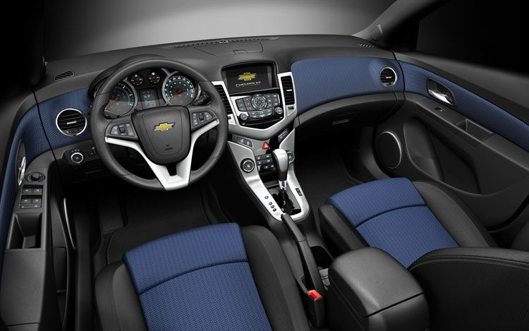 The Chevy Cruz With Black Blue Interior Cruze Chevrolet Cruze Chevrolet