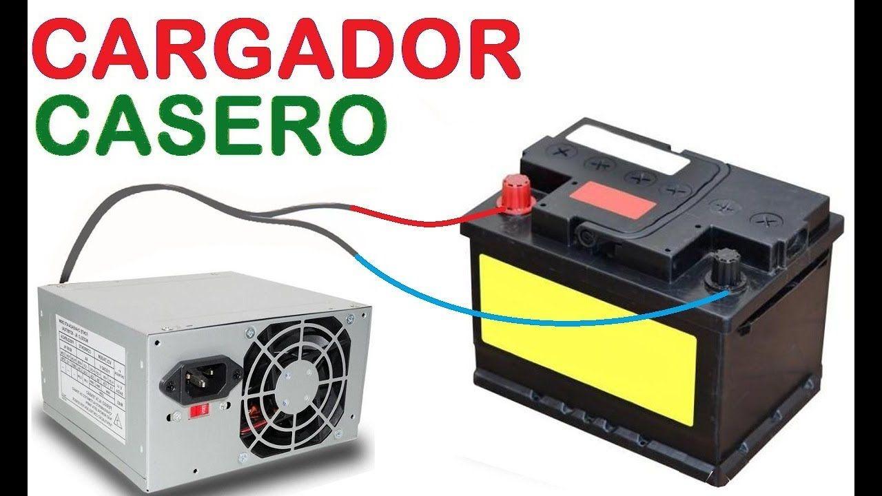Como Hacer Un Cargador De Baterías Con Una Fuente De Pc Bateria De Auto Electricidad Y Electronica Cargador
