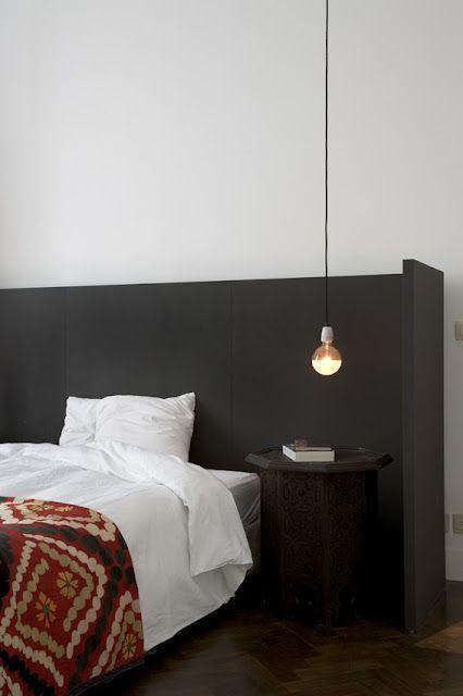 You Are The River Black Headboard Bedroom Interior Interior