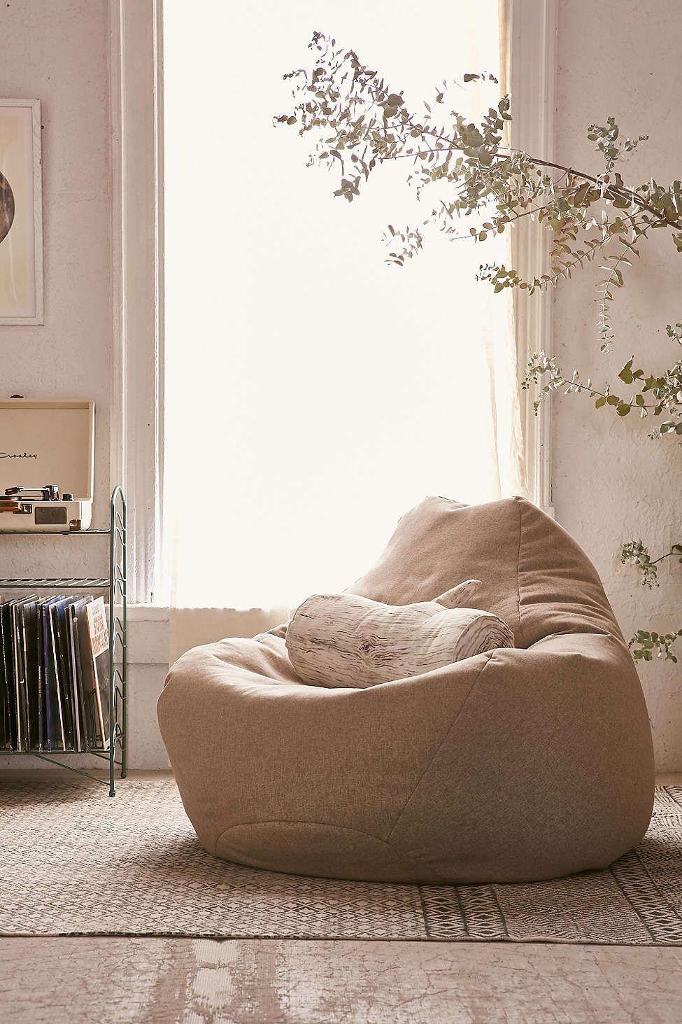 Noah Lounge Chair Bean Bag Chair Floor Pillows Lounge