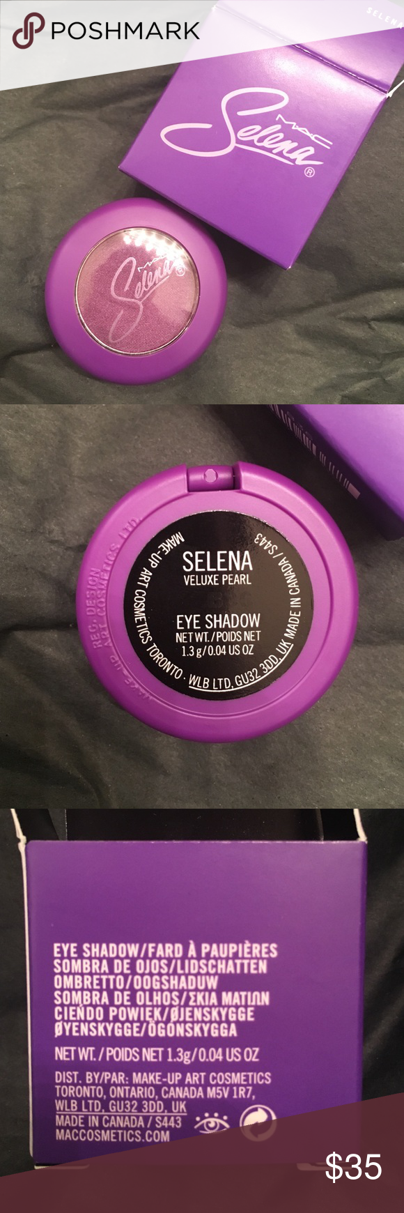 MAC Selena Collection Selena Eyeshadow Brand new in box. Never swatched! Price is Firm! Feel free to ask any questions! Thanks! MAC Cosmetics Makeup Eyeshadow