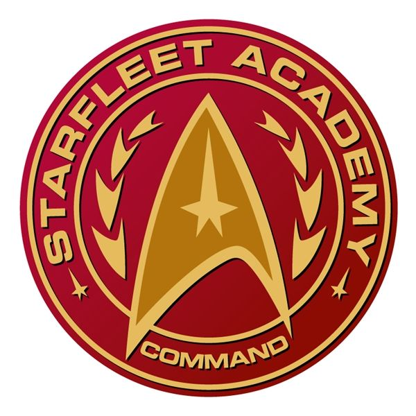 starfleet academy command badge star trek pinterest